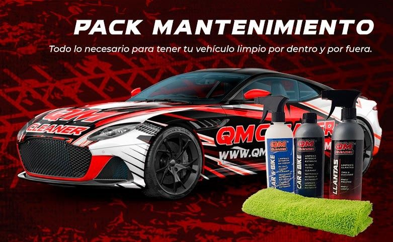 PACK MANTENIMIENTO QM CLEANER